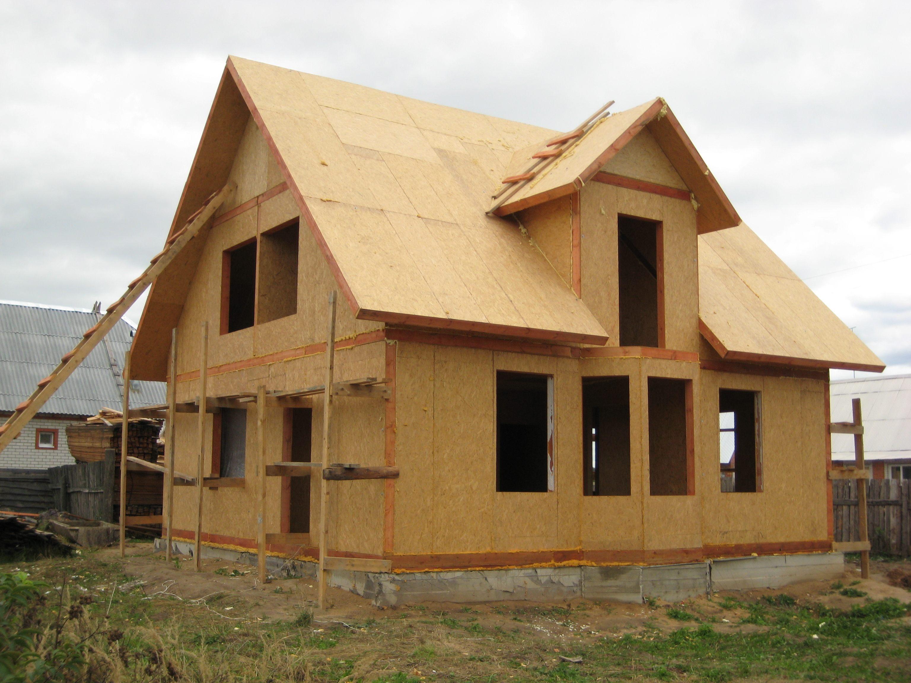 Как построить дом своими руками дешево и красиво проекты из осп